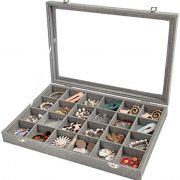 Jewelry Box Organizer for Drawer, Earring Necklace