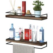 Minggoo Floating Shelves Wall Mounted Set of 2