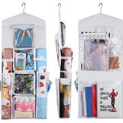 Double Sided Hanging Gift Wrapping Organizer Storage Bag