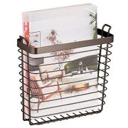 Space Saving Rack for Magazines Home Storage Organizer