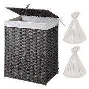 Laundry Hamper with 2 Removable Liner Bag