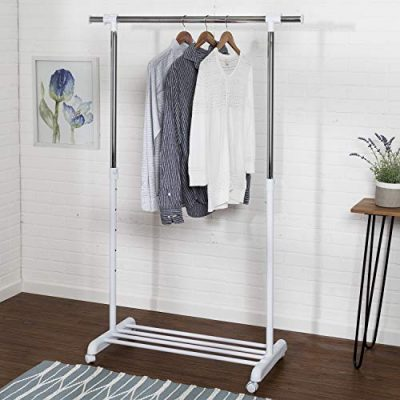 Honey-Can-Do Adjustable Expandable Garment Rack