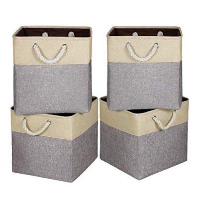 Fabric Storage Bins Storage Baskets for Organizing Shelf Nursery