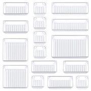 Kootek 16 Pcs Desk Drawer Organizer Set 5-Size Bathroom Drawer
