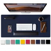 Leather Desk Pad Protector,Mouse Pad,Office Desk Mat