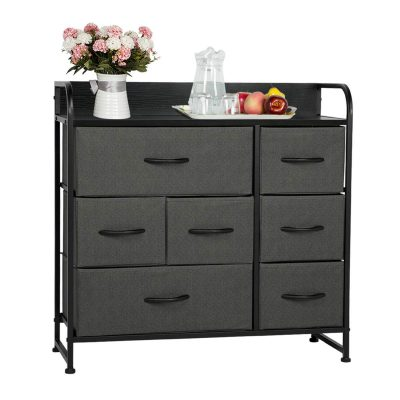 Organizer Fabric Storage Tower & Chest for Bedroom