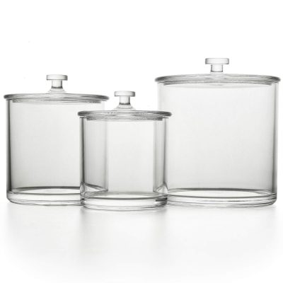 Clear Plastic Multifunctional Acrylic Jars