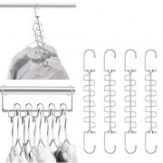 Hangers Magic Cloth Hanger Metal Closet Organizer