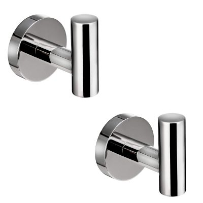Polished Chrome Towel Coat Hooks Stainless Steel