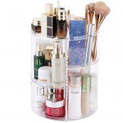 360 Spinning Makeup Organizer - Rotating Makeup Organiser Storage