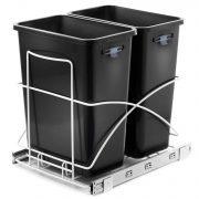 Gallon Kitchen Trash Can Pull Out Under Cabinet Trash Bin