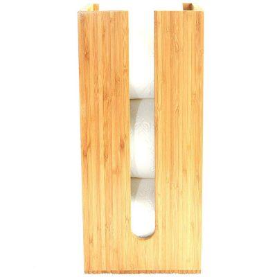 Circadus Bamboo Toilet Paper Roll Holder