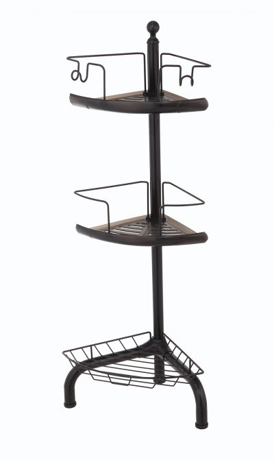 Bathroom Shower Caddy with 3-Basket Shelves