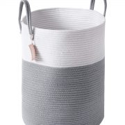 YOUDENOVA Woven Laundry Hamper - Cotton Rope Laundry Baskets