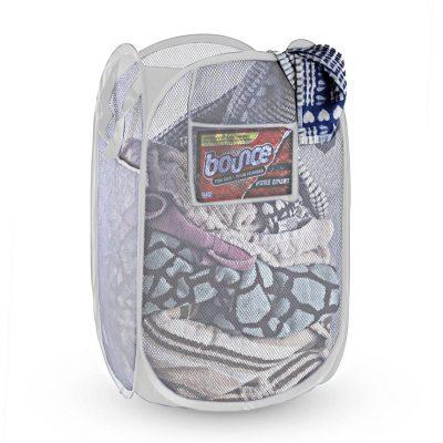 NYHI Mesh Pop-Up Foldable Laundry Hamper