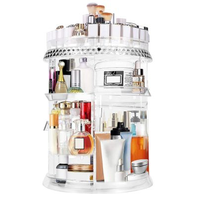 Makeup Organizer 360 Degree Adjustable Storage