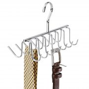 iDesign Axis Metal Hanger, Hanging Closet Organization