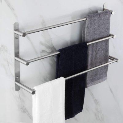 3-Tiers Ladder Towel Rack Wall Mount