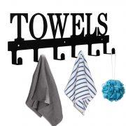 MINCORD Towel Holder Bathroom Towel Hooks Towel Racks