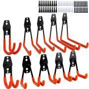 Garage Hooks Dirza 10 Pack Steel Garage Storage Utility Double Hooks