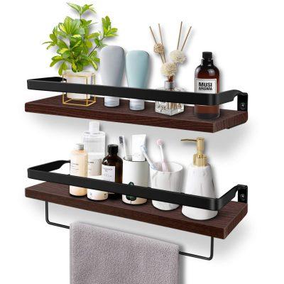Soraken Floating Shelves, Wall Shelves Wall Mounted Bathroom Shelf