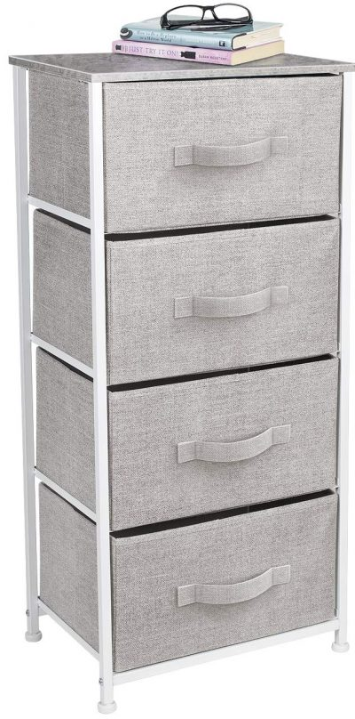 Sorbus Dresser with 4 Drawers Organizer for Bedroom