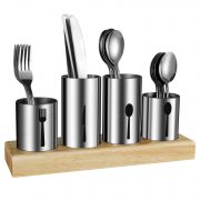 Silverware Holder,HabiLife Utensil Holder