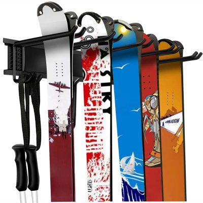 Garage Storage Organization System Ski Wall Rack