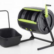 RSI Maze Compost Tumbler, Black