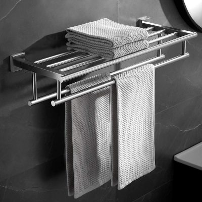 VOLPONE Towel Rack with Double Towel Bar 23.6 in