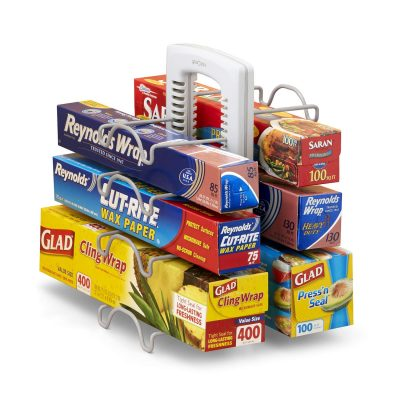 YouCopia StoreMore Adjustable WrapStand Kitchen Wrap Organizer,