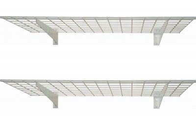 HyLoft 45-Inch by 15-Inch Steel Wall Shelf for Garage Storage