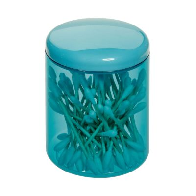 iDesign Finn Canister Jar with Lid for Cosmetics and Makeup Storage