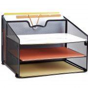 ProAid Mesh Office Desktop Accessories Organizer