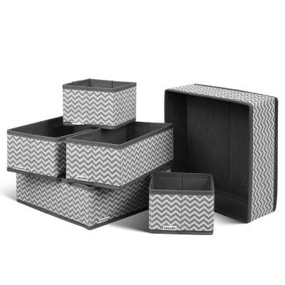 HOMFA Closet Drawer Organizer Foldable Fabric