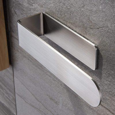 Taozun Hand Towel Holder/Hand Towel Ring - Self Adhesive Bathroom Towel Bar