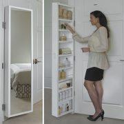 Cabidor Deluxe | Mirrored | Behind The Door | Adjustable