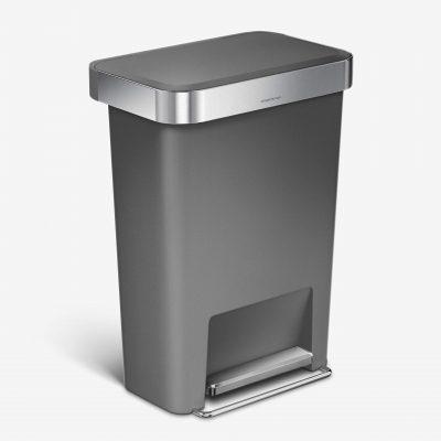 Rectangular Kitchen Step Trash Can