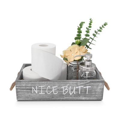 Nice Butt Bathroom Decor Box -Toilet Paper Storage