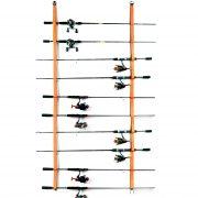 Fishing Rod Rack for Fishing Rods, Hiking Poles, Ski Poles