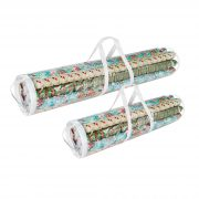 Christmas Birthday Holiday Storage Set of 2