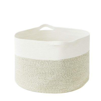 catalpa yao Cotton Rope Basket XXXL Large