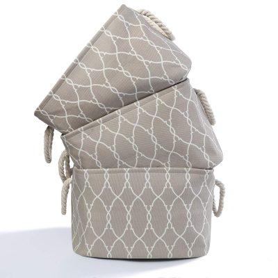 Rectangular Fabric Collapsible Organizer Bin