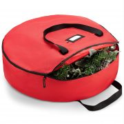 Zober Christmas Holiday Wreath Storage Bag