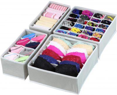 Closet Underwear Organizer Drawer Divider